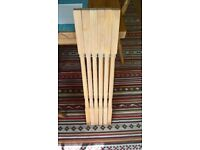 Unused pine banister spindles 32mm x 900mm