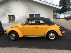 1978 VW Beetle Convertible