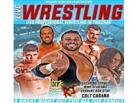 Live Wrestling In Twechar on August 19th featuring Former WWE star Colt Cabana