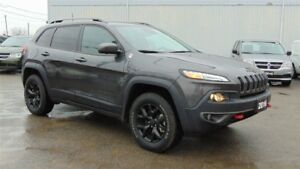 2016 Jeep Cherokee TRAILHAWK-LEATHER- NAV-TOW GROUP-JUST 5,000 K