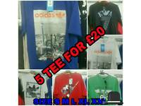 Nike Adidas armani tshirts new all sizes
