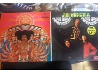 Jimi Hendrix Are you experienced/Axis bold as love Vinyl 1971 print
