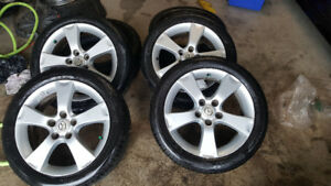 17 in Mazda 3 alloy rims