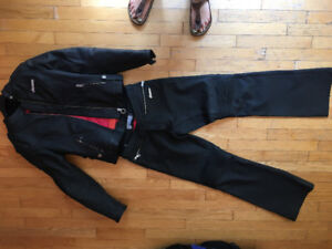 Icon Hella women's leather pants and jacket