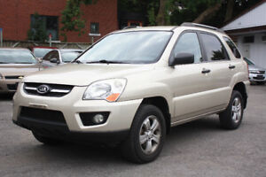 2009 Kia Sportage LX automatic***one owner**LOW MILEAGE 72,000KM