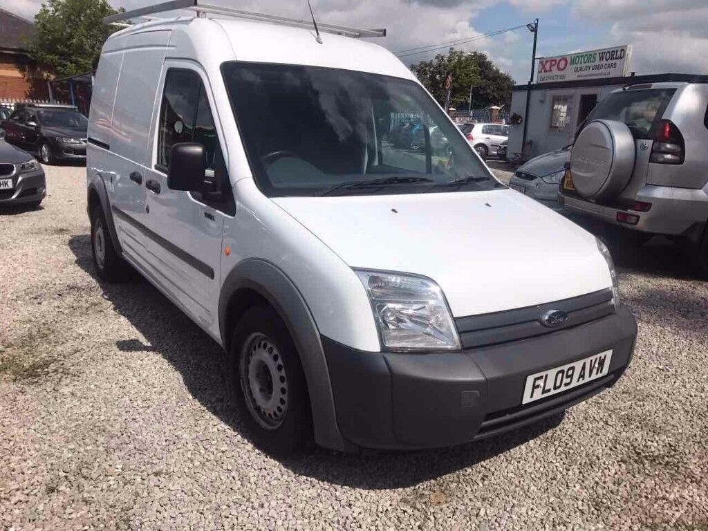 2009 Ford Transit Connect 1.8 TDCi T230 LWB L High Roof 4dr CAT (D) FSH + LOW MILES+LONG MOT