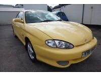 Hyundai Coupe 1.6 SE (yellow) 1999