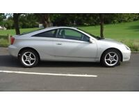 toyota celica vvti coupe 6 speed mot april very high spec fully maintained excellent condition.