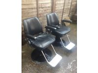 Barber chairs Belmont GT sportsman barber chairs x2