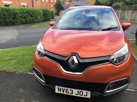 2013 Renault Captur 1.5dci Dynamique Energy Nav - Diesel- FSH Alloys etc in ORANGE