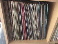 "80 x Vinyl 12"" Records. Ideal for Boot Sales, Crafts"