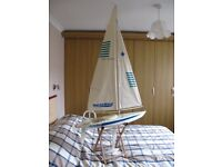 Kyosho Northwind Radio Controlled Yacht complete with transmitter