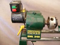 Wood Lathe - Record Power DML 24X -
