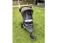 Phil and Teds dash double buggy with all accessories included