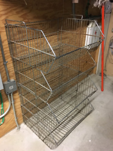Stack able Wire Shelves