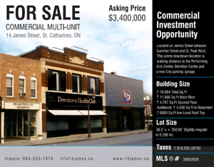 Downtown Commercial Building for Sale
