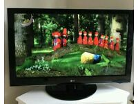"47 "" LG LCD tv full HD with build in freeview."