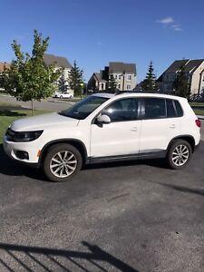 Volkswagen Tiguan 2012 Confortline blanc