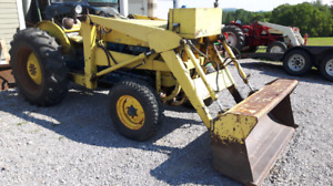 Tractors,Ford 3400 with loader,Nuffield 4/25,Ford 8N