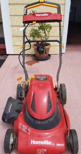 Batteries operated Lauwn mower