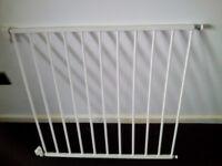 Lyndam Push to Shut Baby Gate