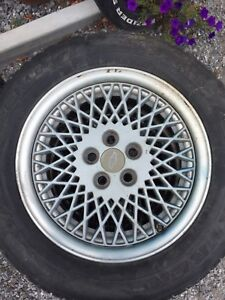 Mags 15 pouce GM 5x100  style bbs