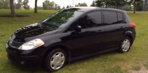 2008 Nissan Versa.  Car Report.  Sundance SE area.