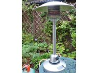 Patio Heater - stainless steel table top gas heater