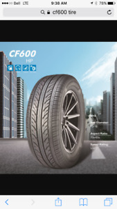185/65R14 m+s cf600 new tires