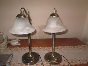 Two tables lamps