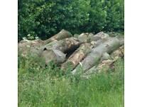 Seasoned hardwood logs leeds 15