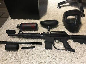 Paintball Bt Omega Package Deal Mint Condition