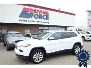 2016 Jeep Cherokee Limited 4x4 - 23,880 KMs, 5 Passenger SUV