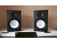 Yamaha HS80M (pair) powered Studio Monitors