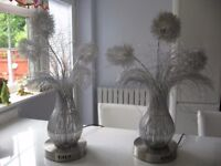 2 Modern Wire Lamps