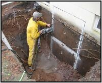 Commercial residential concrete cutting service