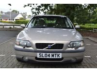 Volvo S60 D5 SE AUTO saloon, March 2004 Ash Gold metallic with fawn leather, LOW MILES!