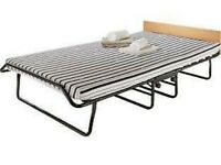 Folding guest bed single