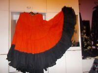 25 yds Tribal Belly dance skirt