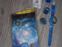 Dr Who watch with exchangeable heads