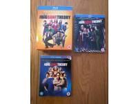 The Big Bang Theory Complete seasons 1 to 7 (Blu-Ray)