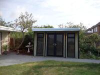 GARDEN HOMES / SUMMER HOUSES / GARDEN OFFICE/ CHALET BUNGALOWS