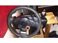 Logitech Driving Force GT Steering Wheel - PS3 - PC - PS2
