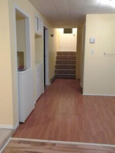 2 bedroom  basement  appt available now close to CCNB Bathurst