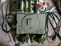 Audiophile PlayStation 1 (PS1), 6 Games & Accessories