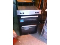 Double oven electric brand new graded SALE ON TODAY £129.99 warranty included BUILT IN OVEN