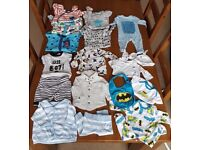 Baby boy up to 1 month bundle