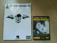 * Brand New * Avenged Sevenfold DVD and tab