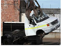 SCRAP VANS END OF LIFE VEHICLES WANTED FOR BREAKING