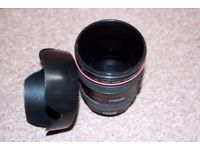 Canian Plastic cup like photo lens
